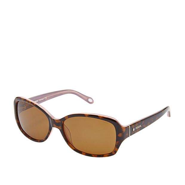 Lynn Polarized Rectangle Sunglasses