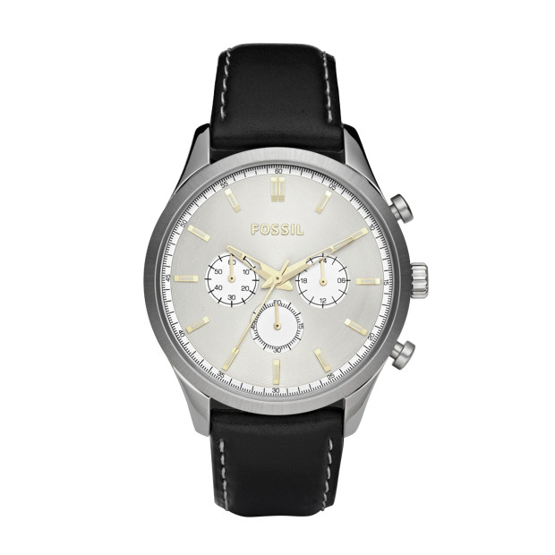 Walter Leather Watch - Black