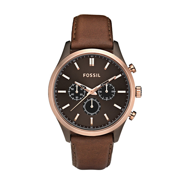 Walter Brown Leather Watch