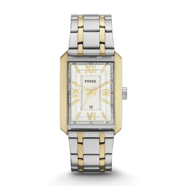 Franklin Stainless Steel Watch - Two-Tone