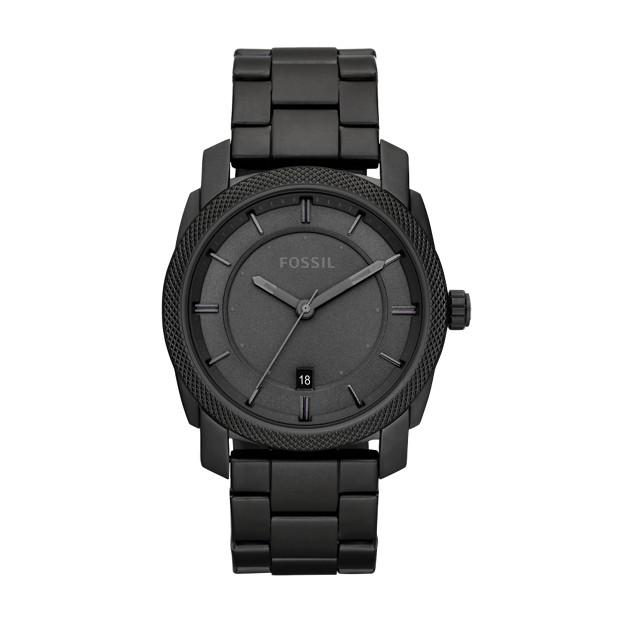 Machine Stainless Steel Watch – Black