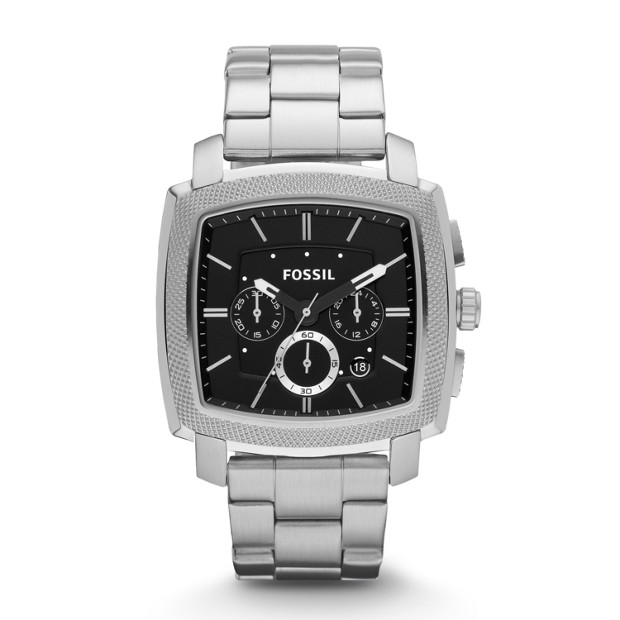 Machine Stainless Steel Watch