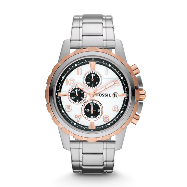 Dean Chronograph Stainless Steel Watch
