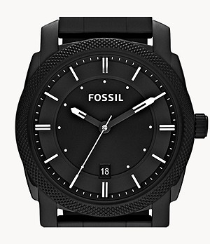 Machine Black Stainless Steel Watch