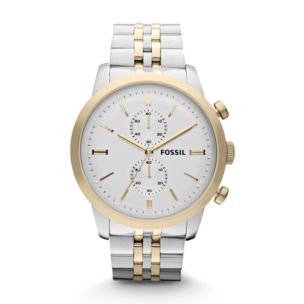 Townsman Chronograph Two-Tone Stainless Steel Watch
