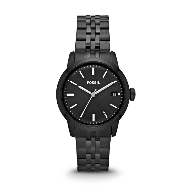 TOWNSMAN Three Hand Stainless Steel Watch - Black
