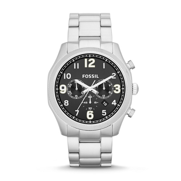 Foreman Chronograph Stainless Steel Watch