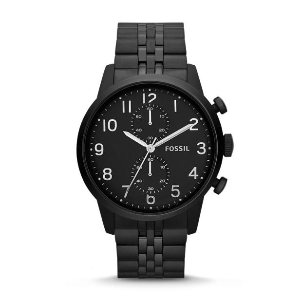 Townsman Chronograph Stainless Steel Watch - Black