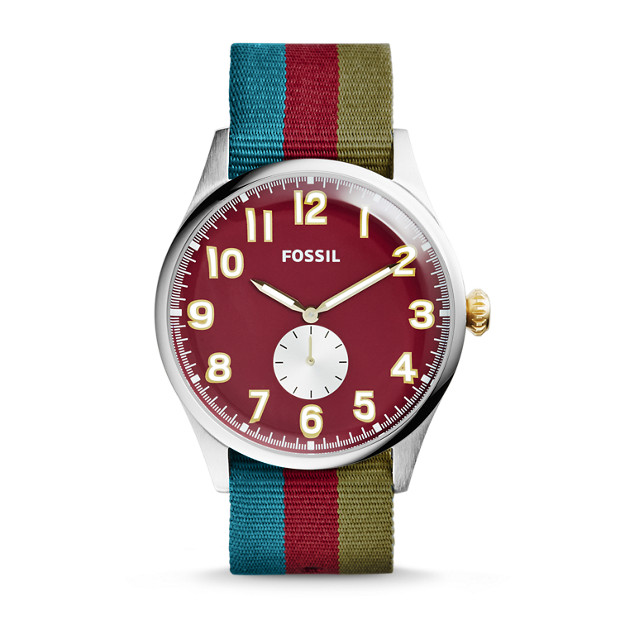 The Agent Nylon Stripe Watch