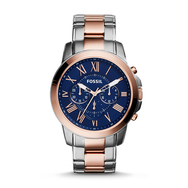 Grant Chronograph Two-Tone Stainless Steel Watch