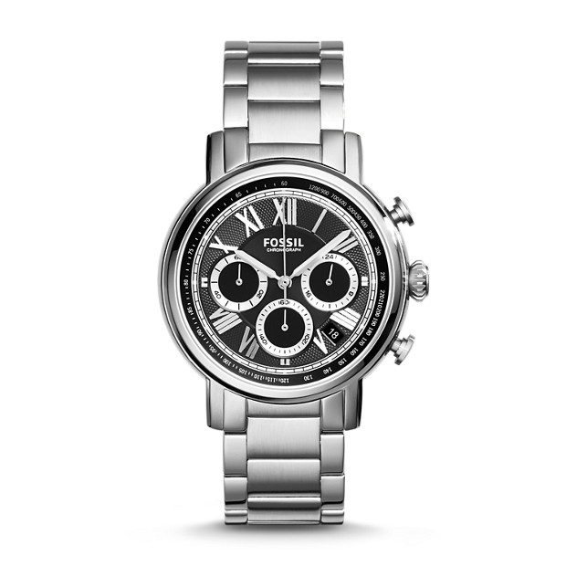Buchanan Chronograph Stainless Steel Watch