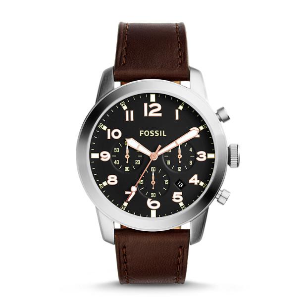 Pilot 54 Chronograph Dark Brown Watch