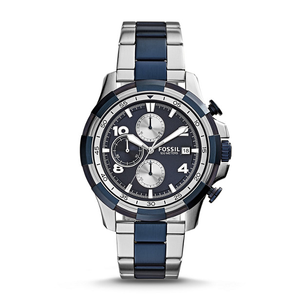 Dean Chronograph Two-Tone Stainless Steel Watch
