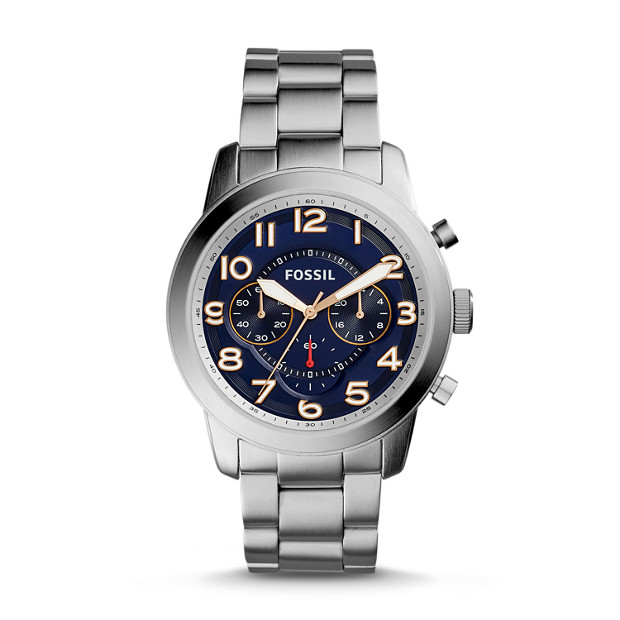 Pilot 54 Chronograph Stainless Steel Watch