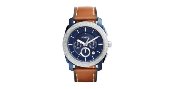 The Chronograph Via LeatherShop Buy Store On Internet Brown Every ALqS345Rcj
