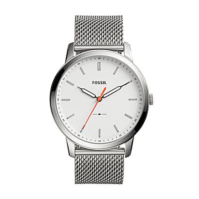 The Minimalist Slim Three-Hand Stainless Steel Watch