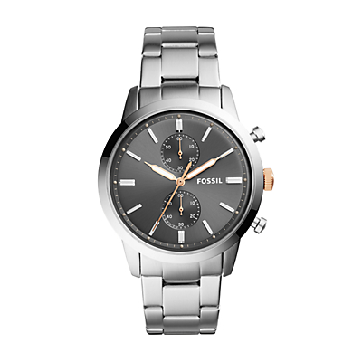 44mm Townsman Chronograph Stainless Steel Watch