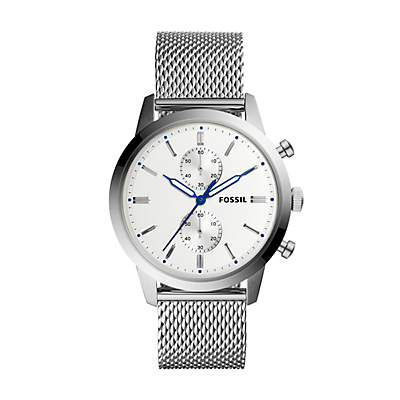 Townsman 44 mm Chronograph Stainless Steel Watch