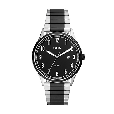 Forrester Three-Hand Two-Tone Stainless Steel Watch