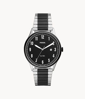 Forrester Three-Hand Two-Tone Stainless-Steel Watch