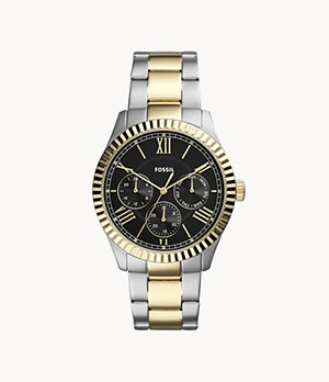 Chapman Multifunction Two-Tone Stainless Steel Watch