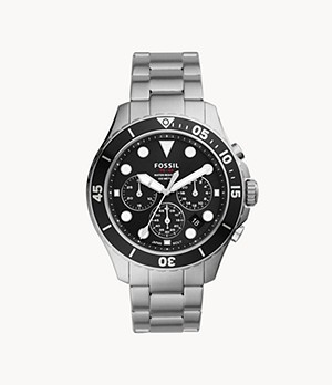 FB-03 Chronograph Stainless Steel Watch