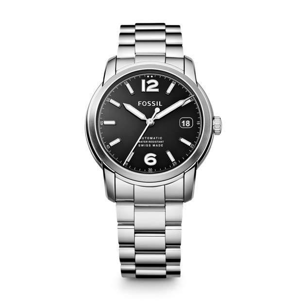 Swiss Made Automatic Stainless Steel Watch