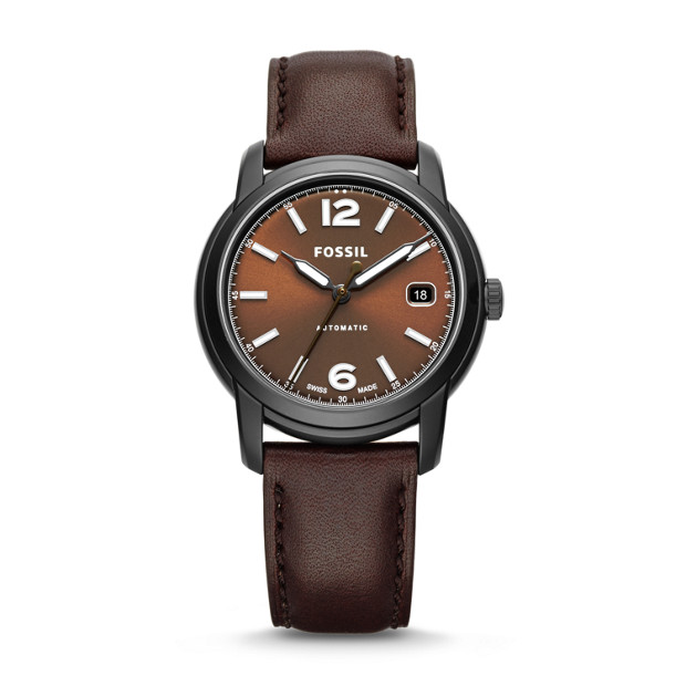 Swiss FS-5 Series Chocolate Leather Watch