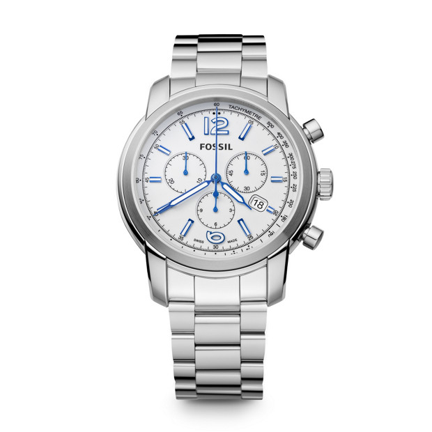 Swiss Made Chronograph Stainless Steel Watch