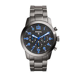 Gen 1 Chronograph Smartwatch - Q54 Pilot Stainless Steel