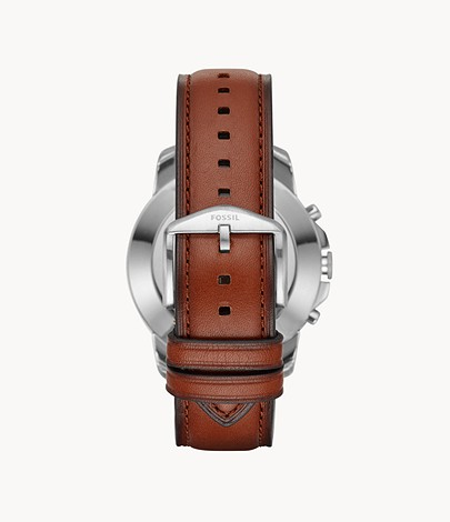 Hybrid Smartwatch Grant Light Brown Leather FTW1122 Fossil