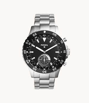 Hybrid Smartwatch Crewmaster Stainless Steel