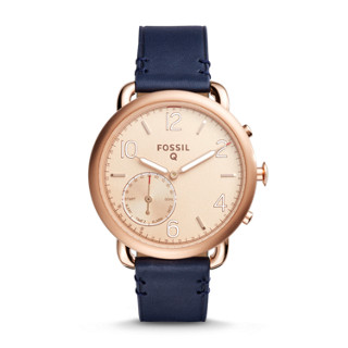 4e4a73fe6 Hybrid Smartwatch – Scarlette Rose-Gold-Tone Stainless Steel - Fossil
