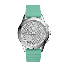 Damen Hybrid Smartwatch Q Modern Pursuit - Silikon - Mint