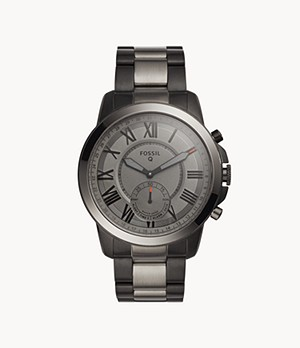 REFURBISHED Hybrid Smartwatch Grant Smoke-Tone Stainless Steel