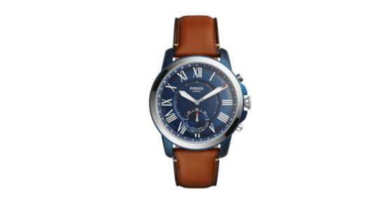 15245a5ad08e Hybrid Smartwatch - Grant Luggage Leather - Fossil