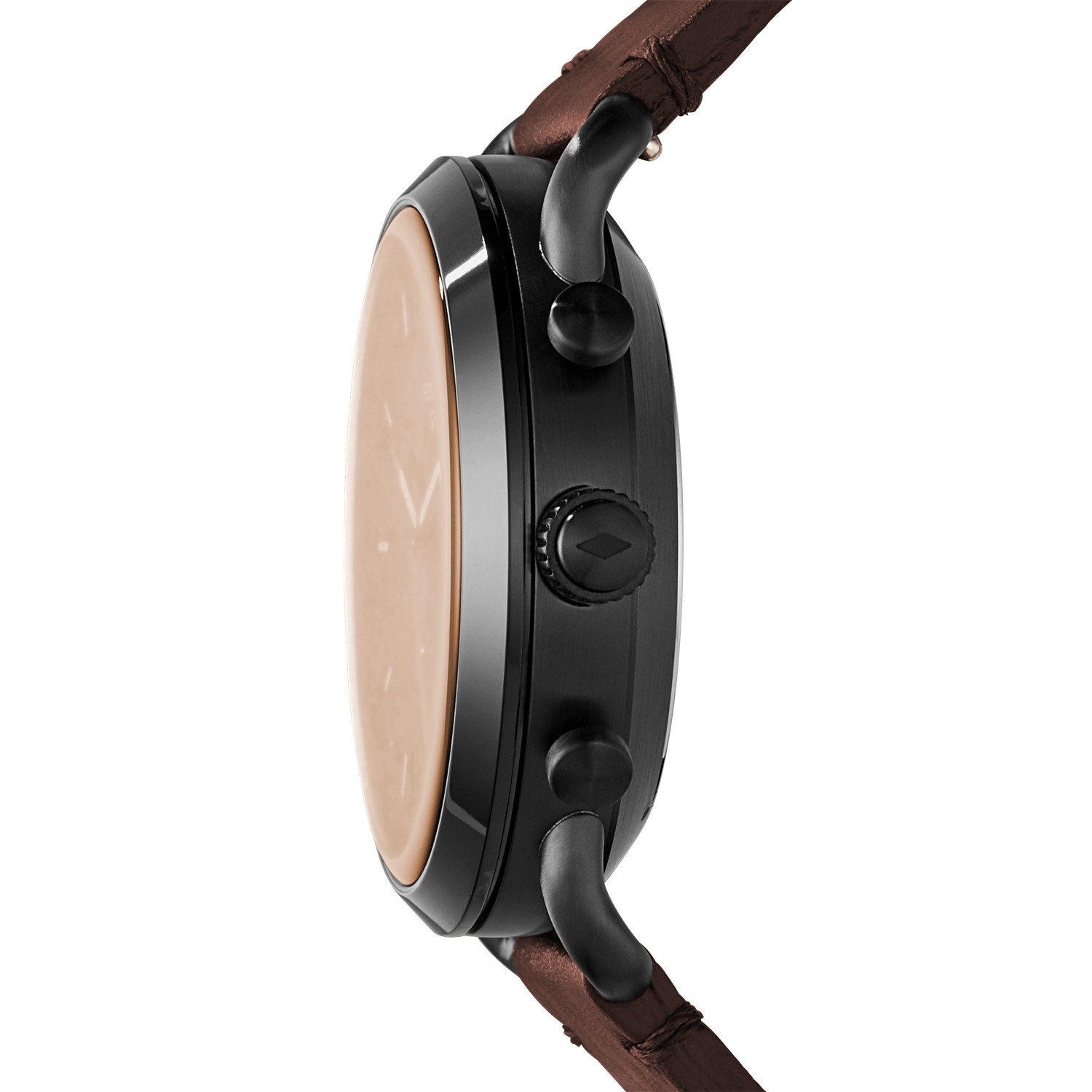 a86247b4f5f7 Hybrid Smartwatch - Commuter Dark Brown Leather - Fossil