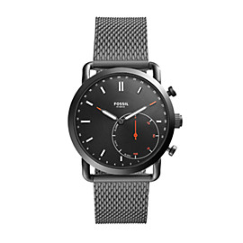 Hybrid Smartwatch – Commuter Smoke Stainless Steel
