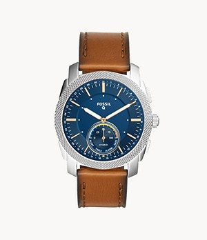 Hybrid Smartwatch Machine Brown Leather