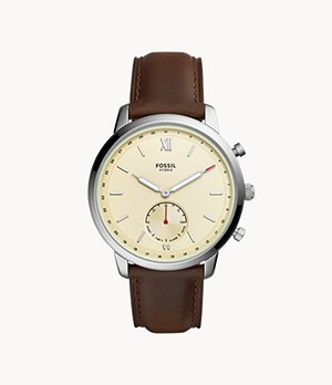 Hybrid Smartwatch Neutra Brown Leather