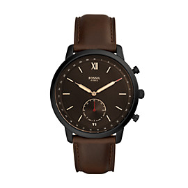 Hybrid Smartwatch - Neutra Whisky Leather
