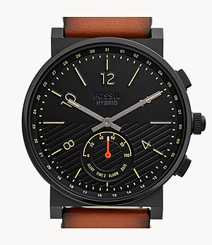 Hybrid Smartwatch Barstow Tan Leather