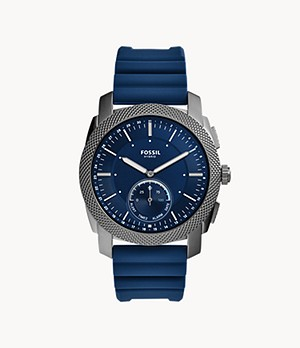 Hybrid Smartwatch Machine Navy Silicone