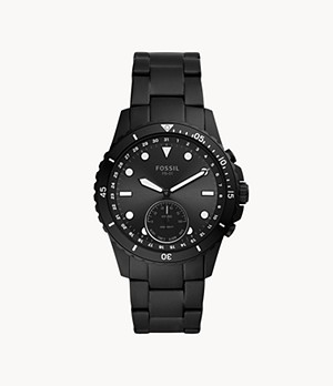 Hybrid Smartwatch FB-01 Black Stainless Steel