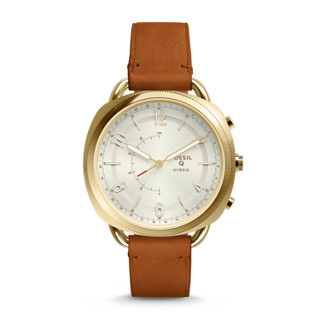 – Rose Stainless Hybrid Accomplice Gold Fossil Tone Steel Smartwatch 08nPkOw