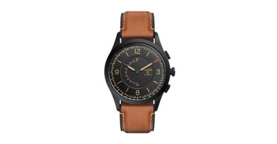 49a258eeb240 Hybrid Smartwatch - Activist Luggage Leather - Fossil