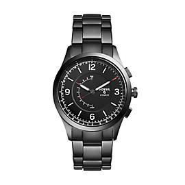 Herren Hybrid Smartwatch Activist - Edelstahl - Grau