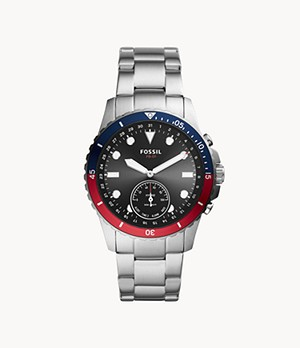 Hybrid Smartwatch FB-01 Stainless Steel