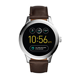 Fossil Q Founder Touchscreen Brown Leather Smartwatch