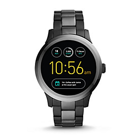 Gen 1 Smartwatch - Q Founder Two-Tone Stainless Steel